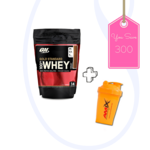 Buy 1 ON whey protein 1lb in pakistan shaker bottle