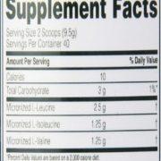 Optimum Nutrition BCAAs Powder in Pakistan 30 Servings