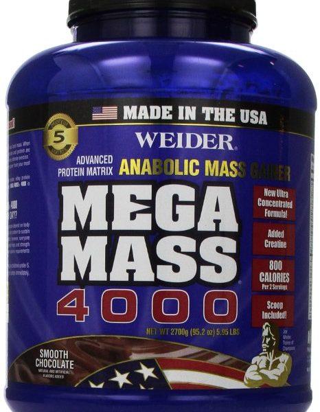 Weider Mega Mass 4000 6 LB