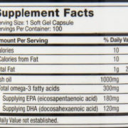 muscletech fish oil nutrition facts