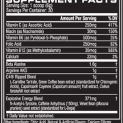 cellucor c4 ripped 30 servings pakistan ingredients
